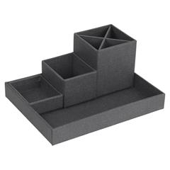 Lena desk organiser fra Bigso Box of Sweden, sort