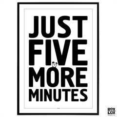Plakat - Gamer - Just five more minutes