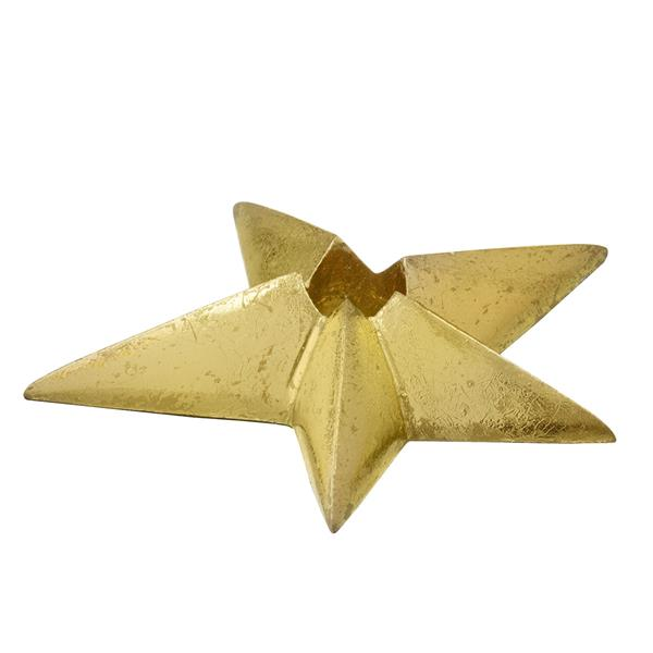 Bungalow lysestage - Shooting star small, guld