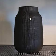House Doctor vase - Groove Black