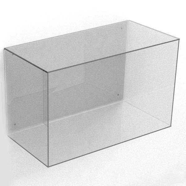 Akryl Box modena akrylkasse til væggen, rektangulær