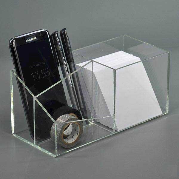 Akryl Box modena stationary box i klar akryl