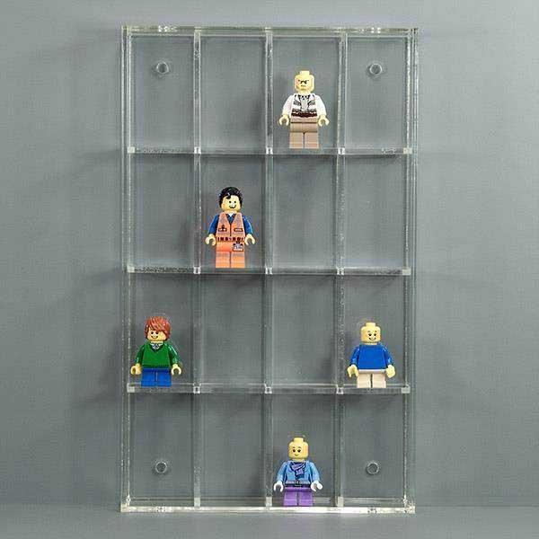Modena minidisplay i akryl til udstilling