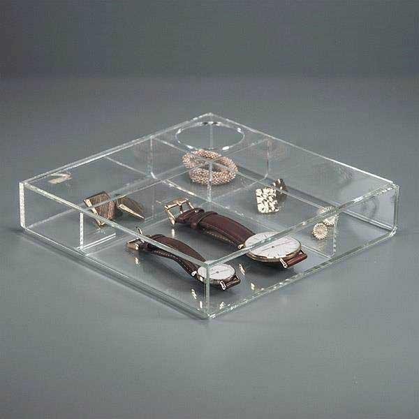 Modena Akryl æske Til Opbevaring Af Smykker