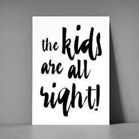 xl postkort - The kids are all right
